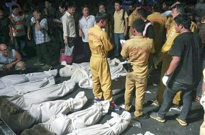 bus accident in Tak province in western Thailand killed more than 30 people