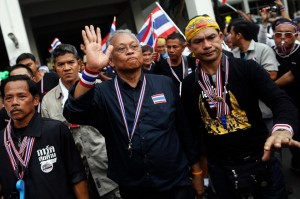 """PDRC's top leader, Suthep Thaugsuban, publicly warned them that a """"mistake"""" like that would not be tolerated again"""