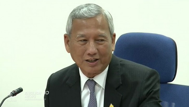 Niwatthamrong Bunsongphaisarn as acting prime minister to replace Ms Yingluck Shinawatra