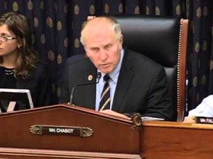 Steve Chabot, the chair of the House Foreign Affairs subcommittee