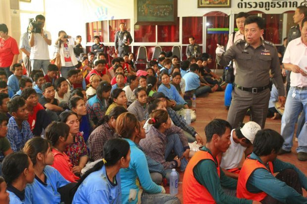 According to migrant workers' rights groups, despite the absence of official figures on the number of detained Burmese nationals, inspections and arrests by Thai authorities are ongoing