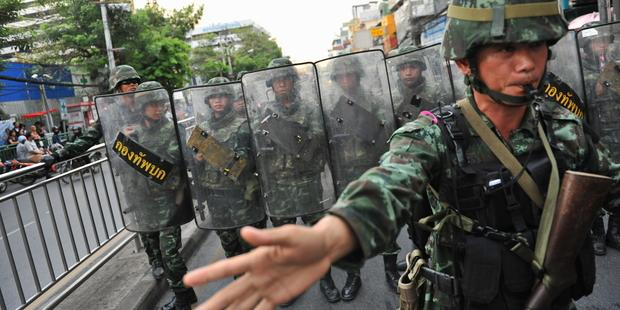 Martial law has been in place in Thailand since 20 May 2014.