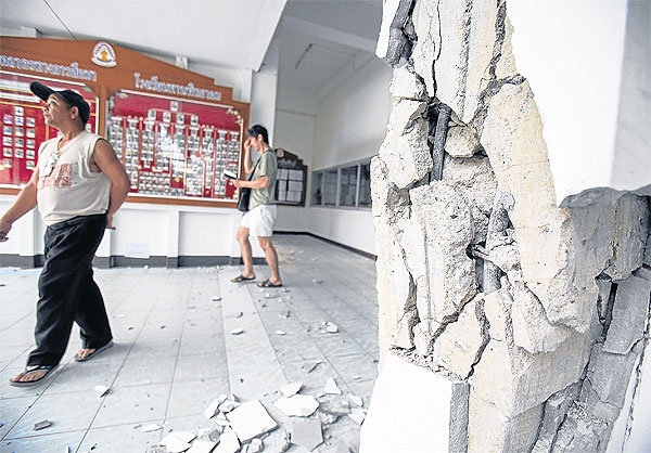 188 schools were left unsafe to use, and an additional 156 buildings collapsed, including some that were under construction