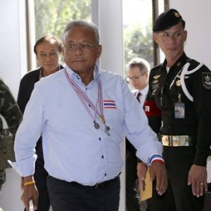 "According to Mr. Suthep, Gen. Prayuth told him before the coup that ""it's now the duty of the army to take over the task."" The military has denied this."