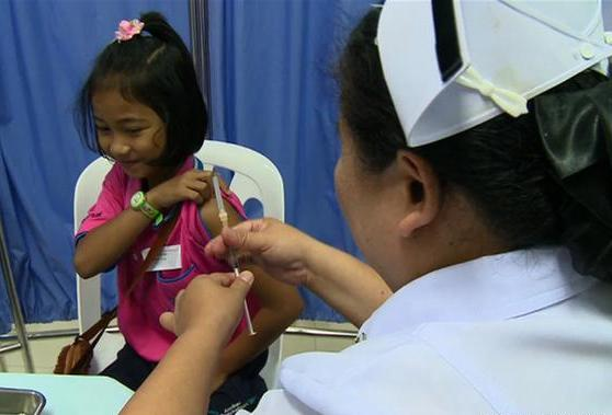 The vaccines will be valid for children aged between two and 14 years, and each vaccination course will provide protection for two years.