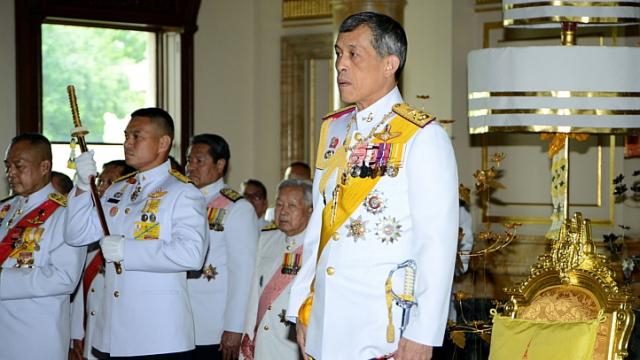 This handout photograph from Parliament received and taken on Aug 7, 2014 shows Thai Crown Prince Maha Vajiralongkorn attending the opening of the National Legislative Assembly in Bangkok. Thailand inaugurated a new national assembly dominated by military figures on Thursday, in what the junta has said is a step toward the transition of power back to democratic government. -- PHOTO: AFP - See more at: http://www.straitstimes.com/news/asia/south-east-asia/story/thailand-inaugurates-national-assembly-junta-keeps-tight-grip-201408#sthash.HJXJg3US.dpuf