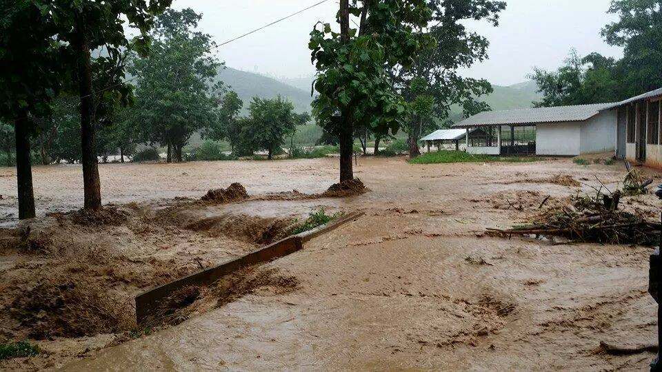 5,800 households and 11,200 people have been affected by the flooding