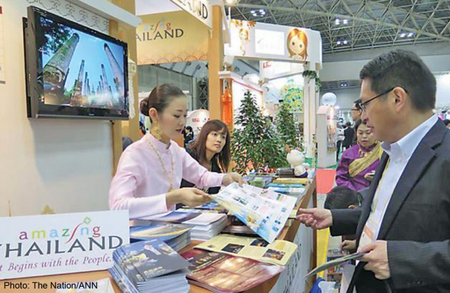 Agents want the military regime to issue an official statement giving an assurance that it would be safe for tourists to travel to Thailand despite the martial law, - See more at: http://news.asiaone.com/news/asia/japanese-travel-agents-seek-thai-govts-official-assurance-safety?page=0%2C0#sthash.5CN3GaDg.dpuf