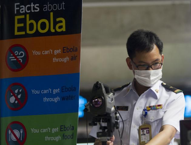 Thailand is buying Ebola detection kits from German and China,