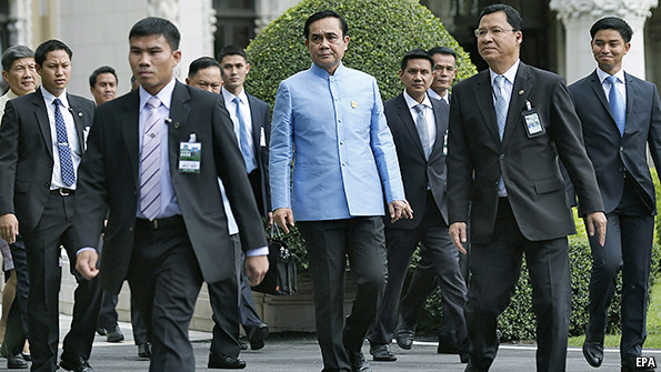 Prime Minister Prayuth Chan-Ocha, brought the total approved projects to 458.6 billion baht($14.11 billion) since May 22 military coup.