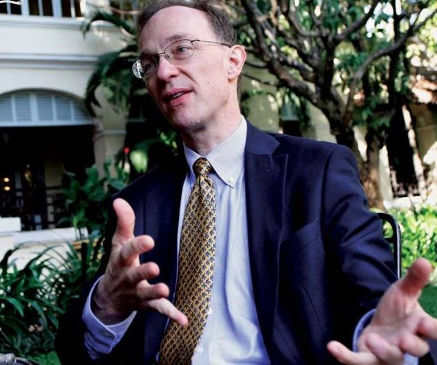 Ulrich Zachau, the World Bank's country director for Southeast Asia.
