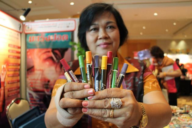 The Public Health Ministry originally suggested a ban, saying the items were luring young people into smoking.