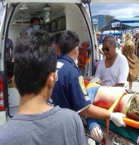 Belgian tourist fell off a boat while traveling between Koh Tao and Koh Phangan
