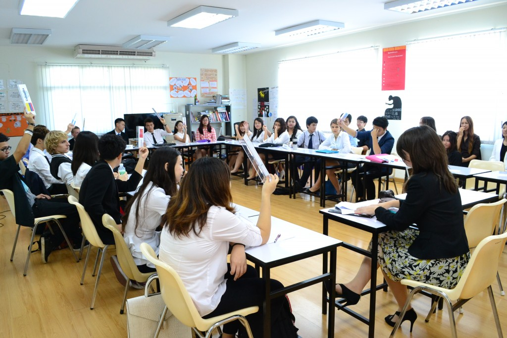 Model United Nations conference in Chiang Mai