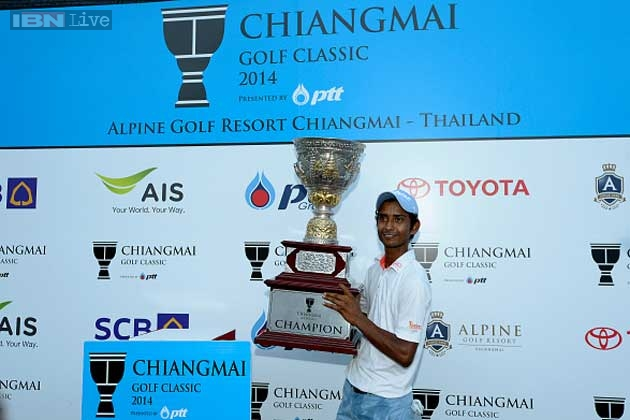 India's Rashid Khan produced a strong back nine performance to win the Chiangmai Golf Classic by one shot for his second Asian Tour title