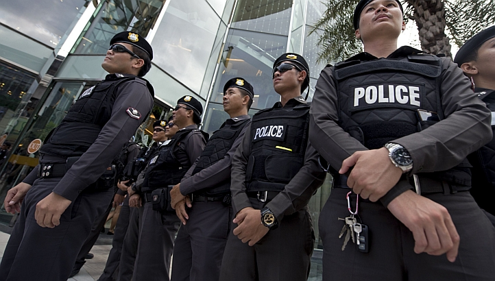 Thailand is mulling the re-introduction of police conscription, a spokesman said on Monday (Nov 3), as the force looks to boost its ranks by several thousand each year.