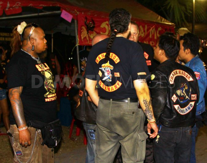 """Police say another gang, known as the """"Bandidos"""", has been operating on Koh Samui in Surat Thani and Phuket"""