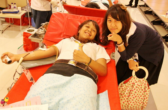 """""""Only one Thai in every 1,000 has this special blood type, so it's a rare blood group,"""""""