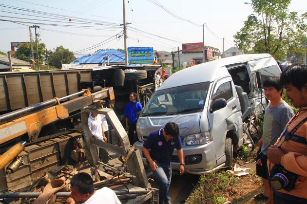 Chiang Mai has the highest number of road accidents
