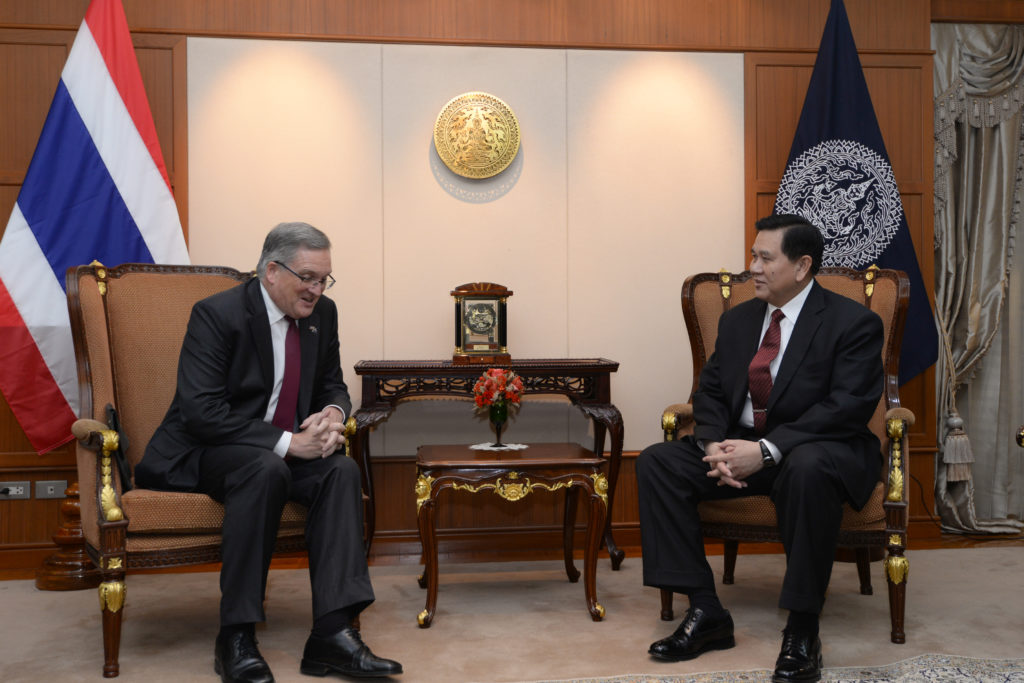 Australian Ambassador to Thailand Paul Robilliard told Deputy Prime Minister and Foreign Minister Gen Tanasak Patimapragorn - See more at: http://thainews.prd.go.th/centerweb/newsen/NewsDetail?NT01_NewsID=WNPOL5801150010017#sthash.aOzpDtDy.dpuf