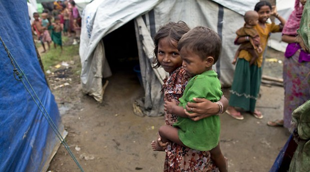 Children in shelters had little or no access to education.