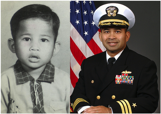 Cambodian-born USN Commander Michael Vannak Khem Misiewicz is the only one of five officers charged so far to maintain his innocence