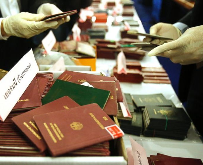 The Thai Department of Special Investigation on Wednesday announced they had arrested an Iranian man who allegedly was a ringleader in a passport forgery network, and confiscated more than 1,000 stolen passports