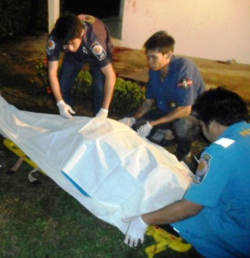 The body of Helmut Alfred Breidenassel was foundin his bedroom on the second floor of his three-storey townhouse at Chaiyo Nakhon housing estate on Lat Phrao Road on Wednesday evening.