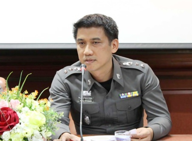 Pol.Col. Sukthat Pumphanmuang, superintendent of Mueang Pattaya Police Station
