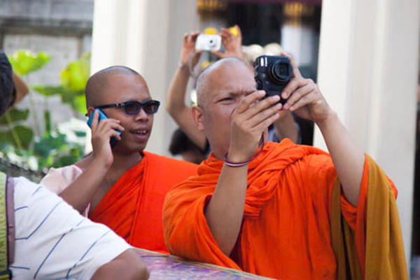 Now, many Thai men become monks for the benefits