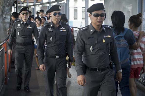 Thai police have stepped up patrols in a crackdown on crime in the area following reports of the gang rape of a British woman