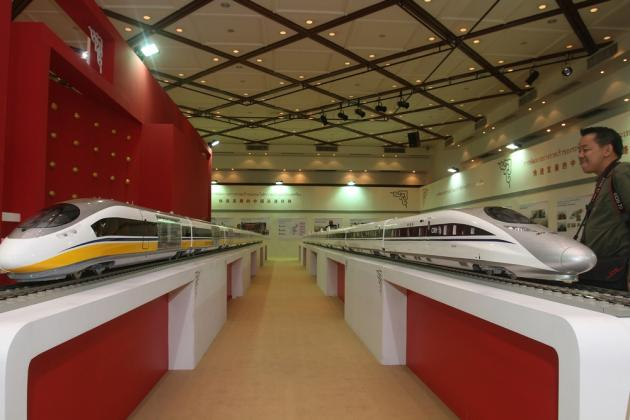 China recently hosted an exhibition on high-speed train in Bangkok