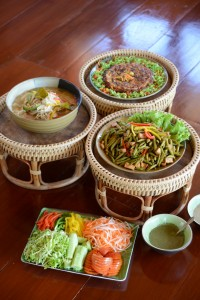 Himalayan salt is used in all of Museflower's delicious vegetarian cuisine