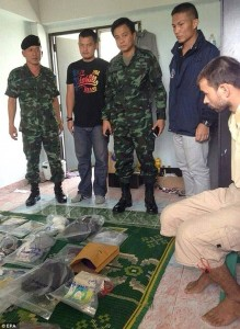 It is thought that the man is 28-years-old and had rented out four apartments in the area Read more: http://www.dailymail.co.uk/news/article-3215128/Thai-police-arrest-foreigner-suspected-deadly-bomb-attack-Bangkok-shrine.html#ixzz3kD7eKyen Follow us: @MailOnline on Twitter   DailyMail on Facebook