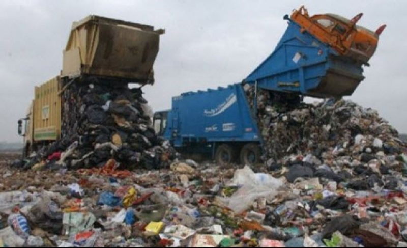 """People here generate 16 tonnes of waste a day, our current capacity can't cope with that,"""" he said"""