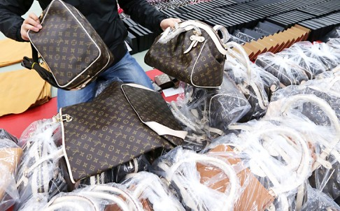 Phuket police seized more than 2,000 items valued at more than B4 million in the Patong raids
