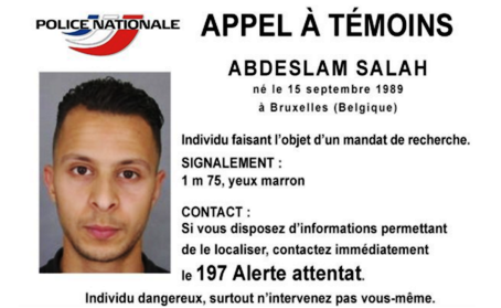 Saleh Abdelslam, 26, is considered extremely dangerous
