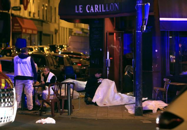 Two people opened fire at the Le Carillon bar, while another shot up the Cambodge restaurant in the city's 10th district, according to French media.