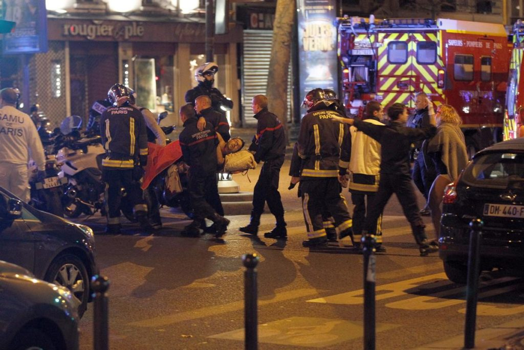 More than 1,000 people were inside the hall at the time of the rampage, watching an Eagles of Death Metal show, authorities said. At least 118 people were killed there.