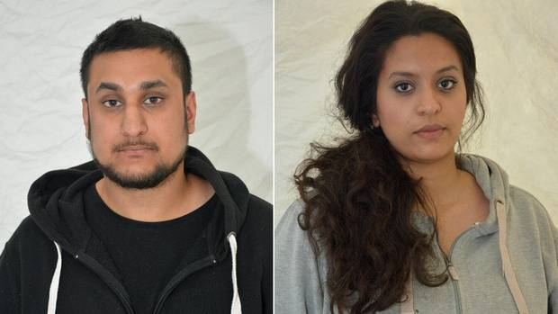 British couple Mohammed Rehman and Sana Ahmed Khan were convicted on Dec. 29 of preparing for acts of terrorism