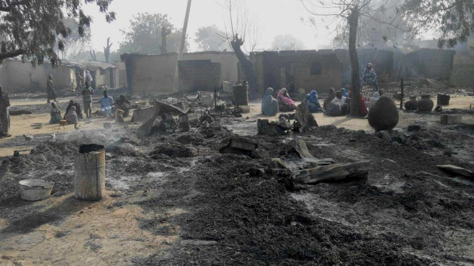 the insurgents killed at whim, burnt children and adults, while also razing down properties.