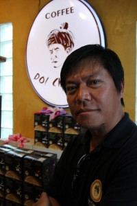 Ardel or Panachai Pisailert, an ethnic Akha and managing director of Doi Chaang Coffee