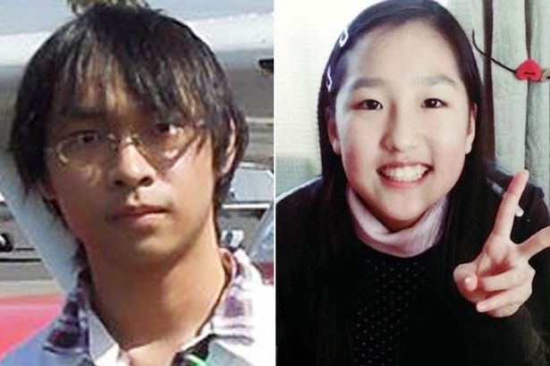 15 year-old Ana Saito, who has been found after being kidnapped for two years by Terauchi Kabu