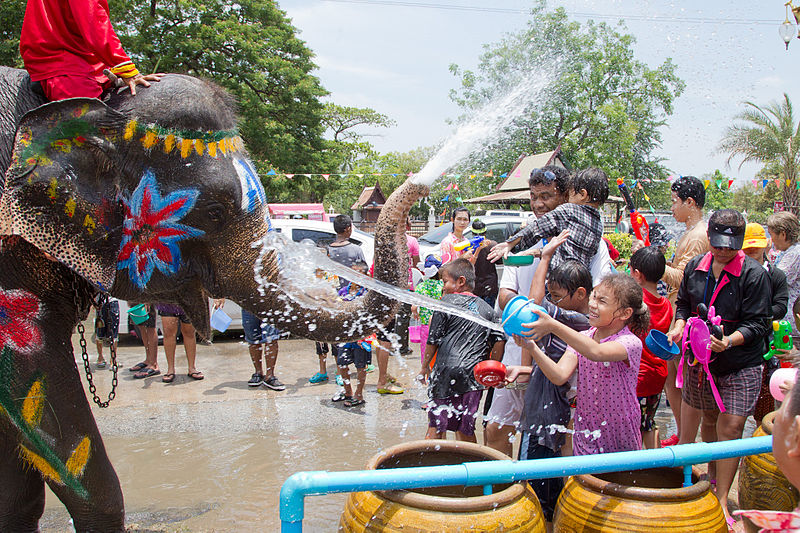 Unlike Bangkok, the celebrations in Chiang Rai are more exuberant and last longer than the traditional three days.