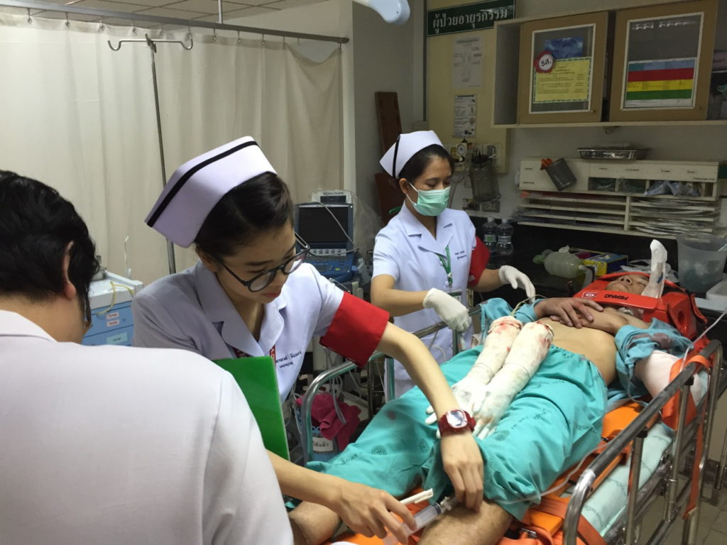 More than 28,000 people were injured in this years Songkran Holiday