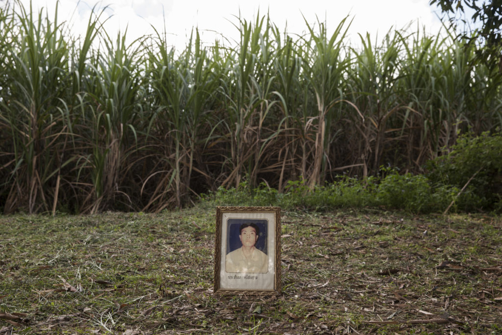 Mr Samnao Srisongkhram, 38, was shot dead in a field near his village on 25 November 2003 in Lam Nam Phong village, Khon Kaen Province. He was the President of the Lam Nam Phong Environmental Conservation Association in Ubonrat District of Khon Kaen Province. He was leading a fight against the dumping of waste from a nearby polluting paper factory.
