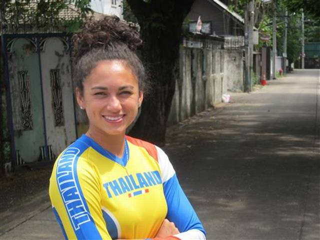 Switching allegiance was a pragmatic decision for Carr, choosing to change her country designation to compete for Thailand in BMX.