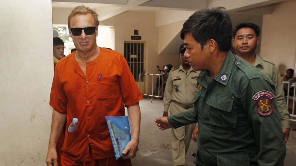 American paedophile given 10 year prison sentence for child sex abuse in Cambodia