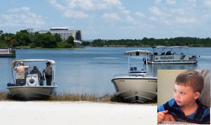 The body of Lane Graves was discovered by police divers on Wednesday afternoon