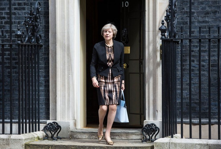 The new Conservative leader will replace David Cameron as prime minister.